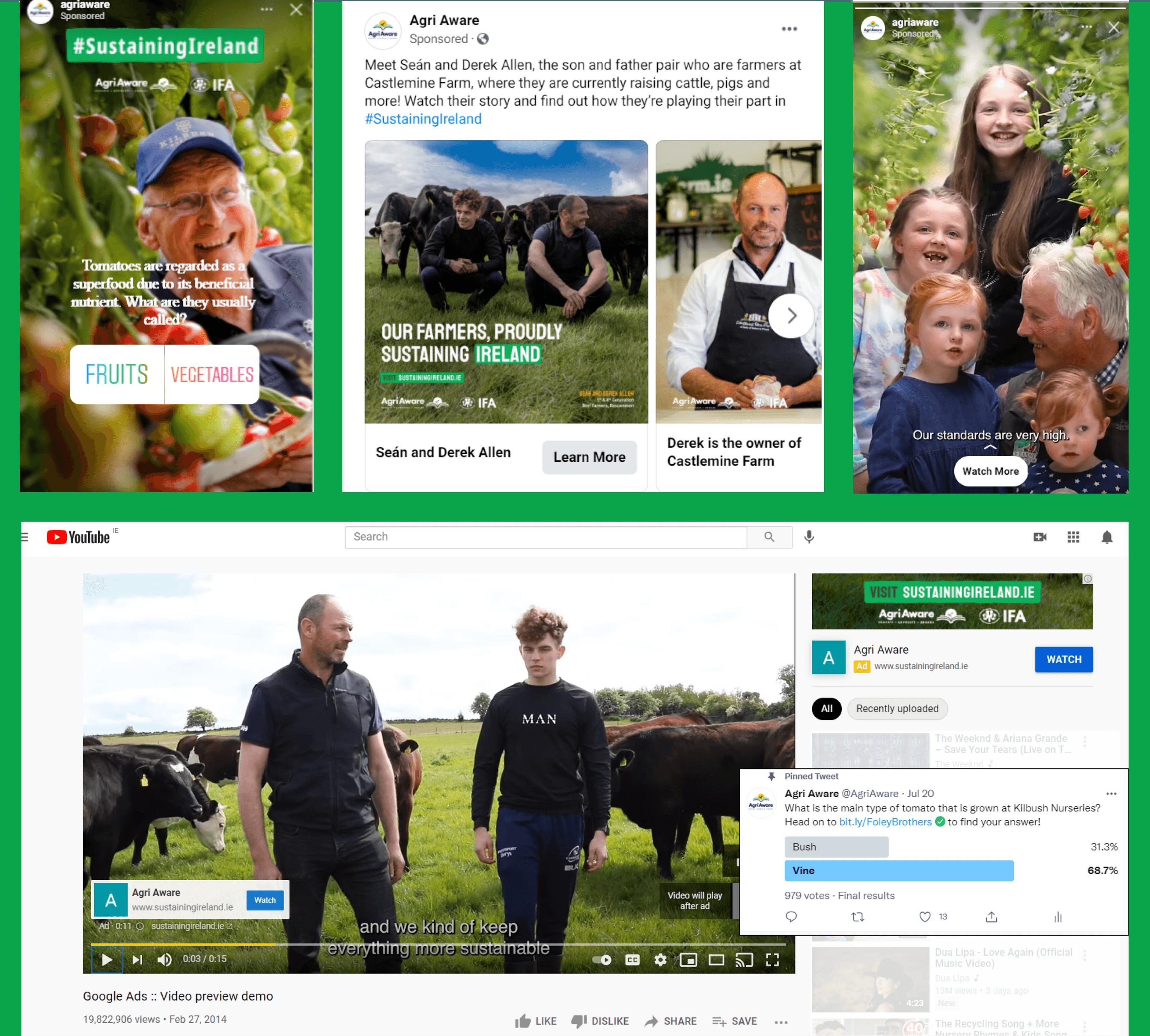 Agri Aware Social Media Campaign