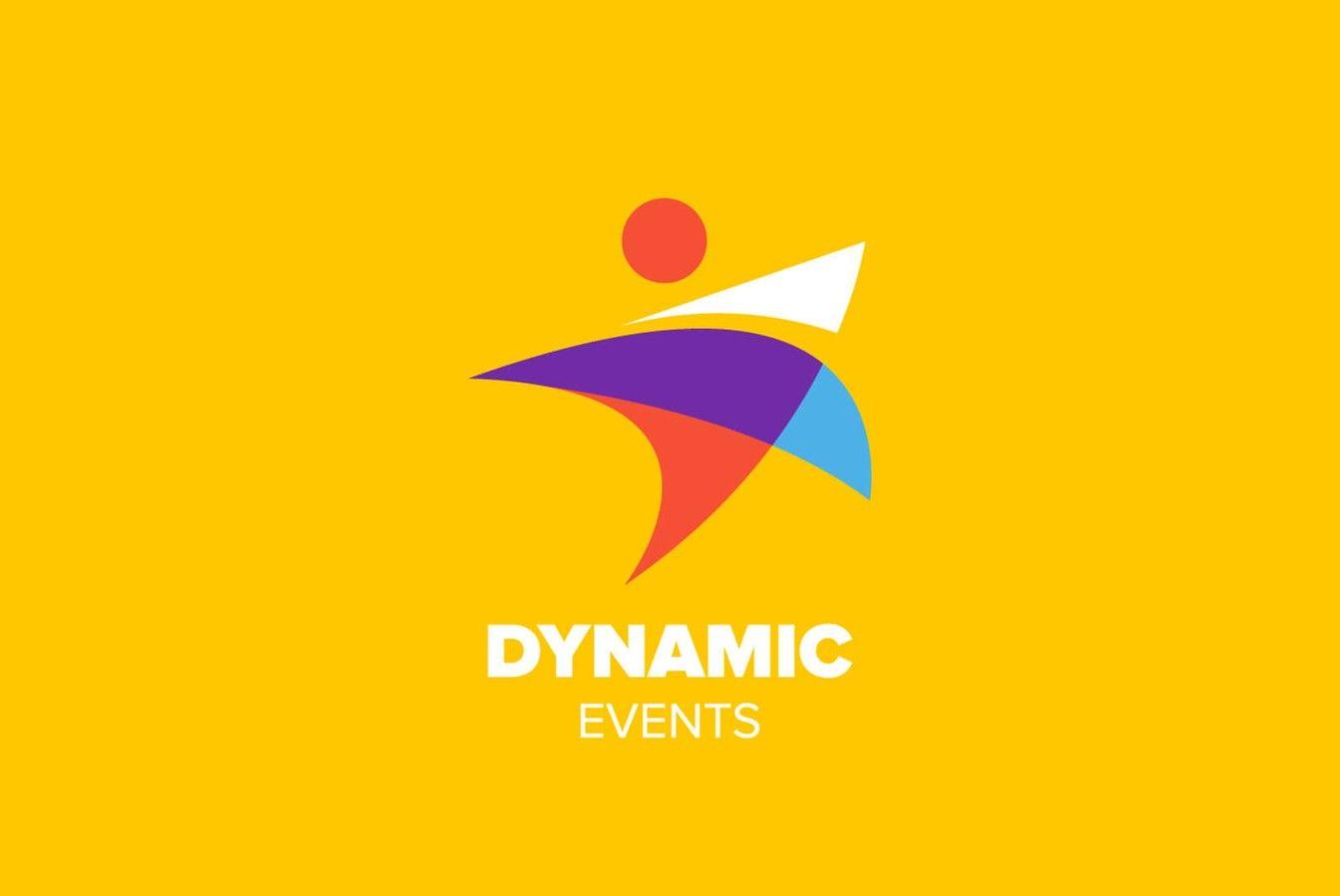 Dynamic Events Logo Design