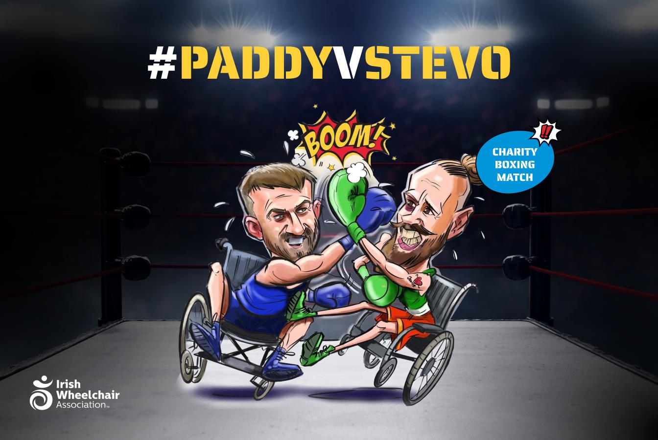 StevoVPaddy Charity Event
