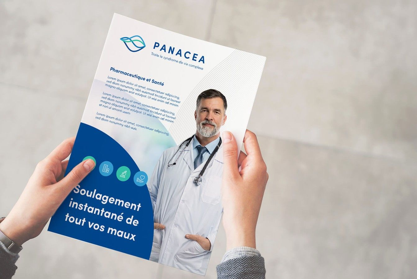 Pancea Healthcare Marketing Brochure