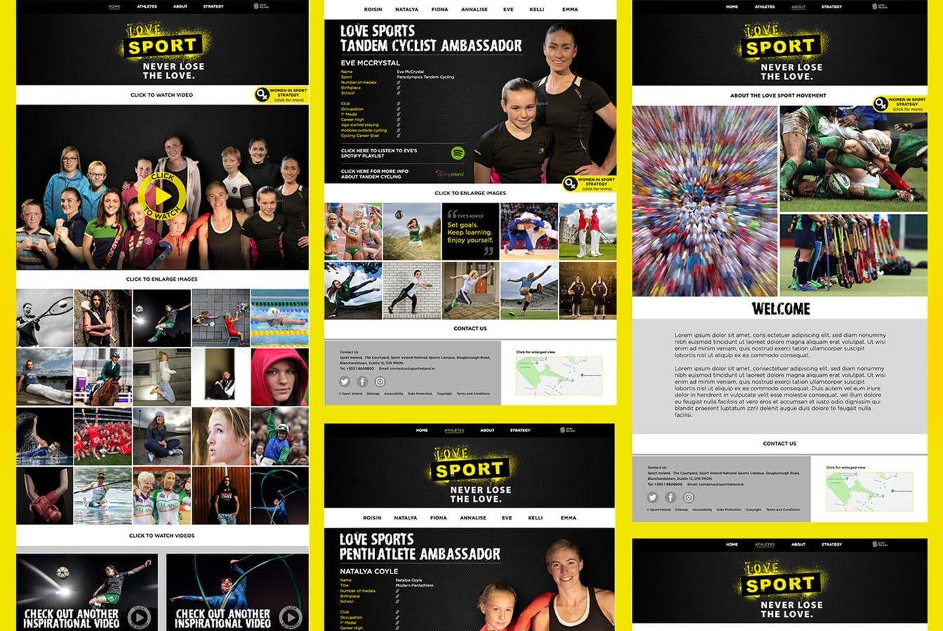 Sport Ireland Creative Website
