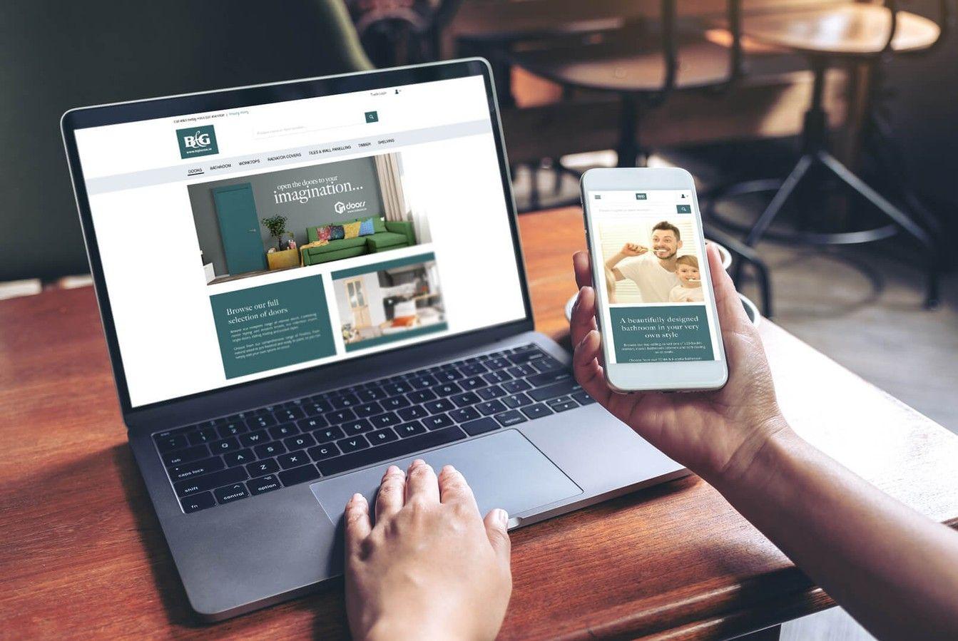 B & G Responsive Website