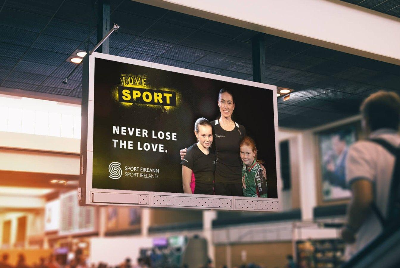 Sport Ireland Creative TV Advertisement