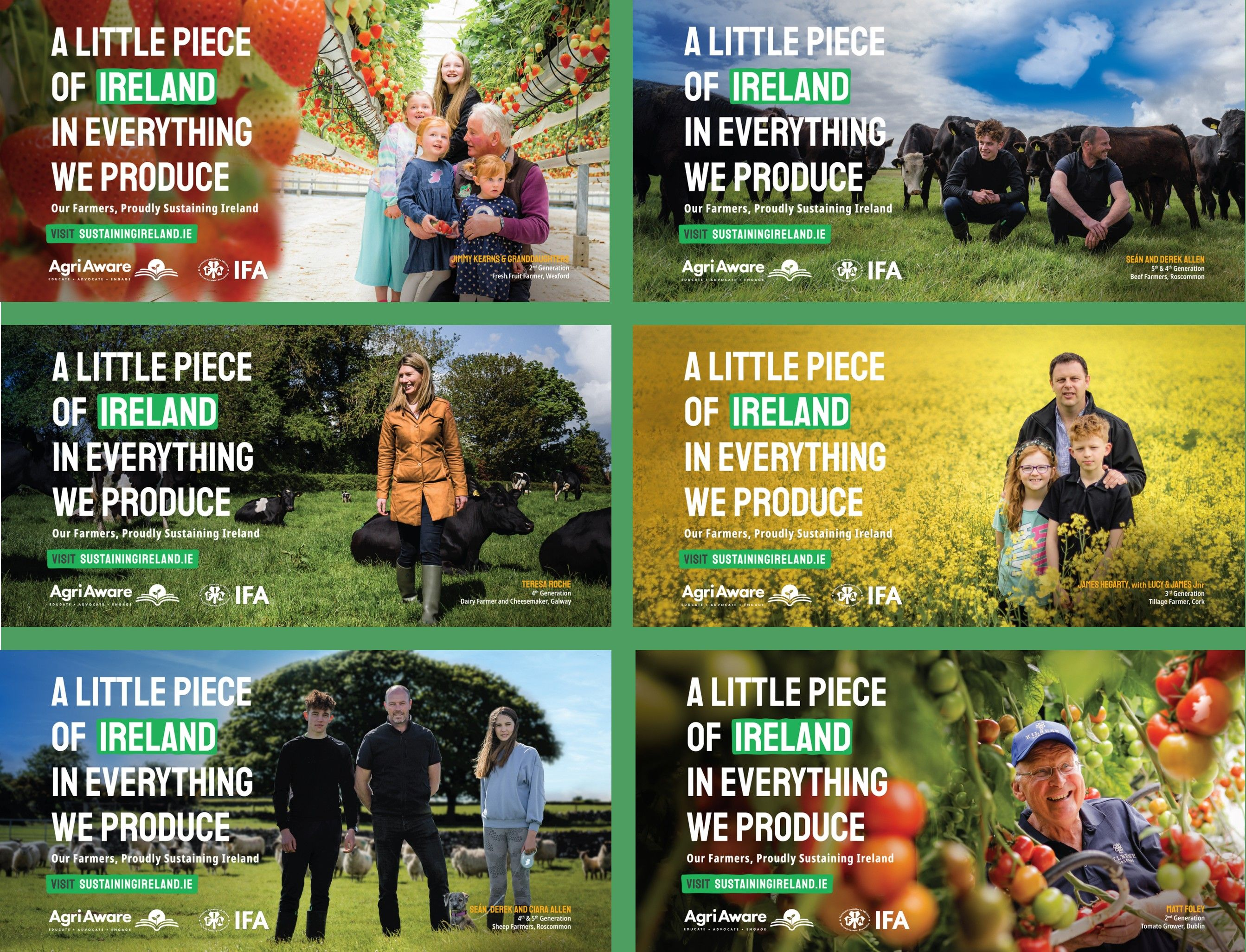 Agri Aware Campaign Banners