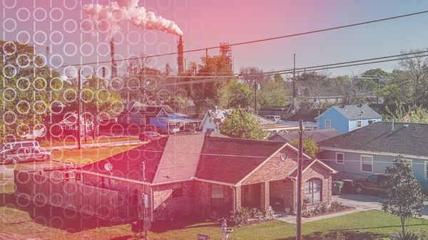 The ease with which polluting facilities are sited in communities of color is just one example of environmental racism. Photo: Karen Kasmauski.