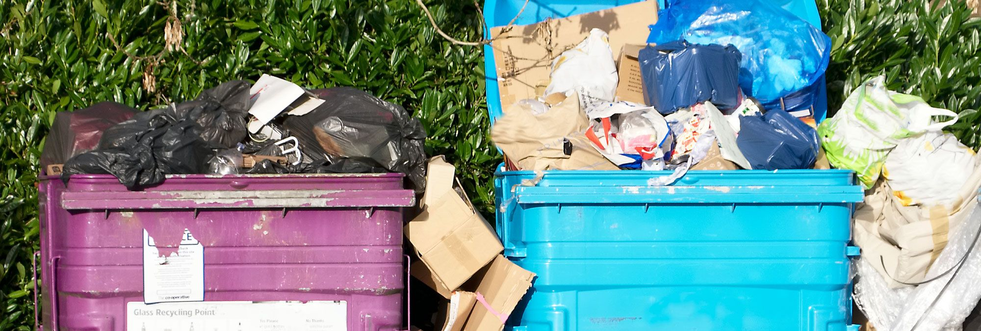 What to do About Overflowing Rubbish Bins