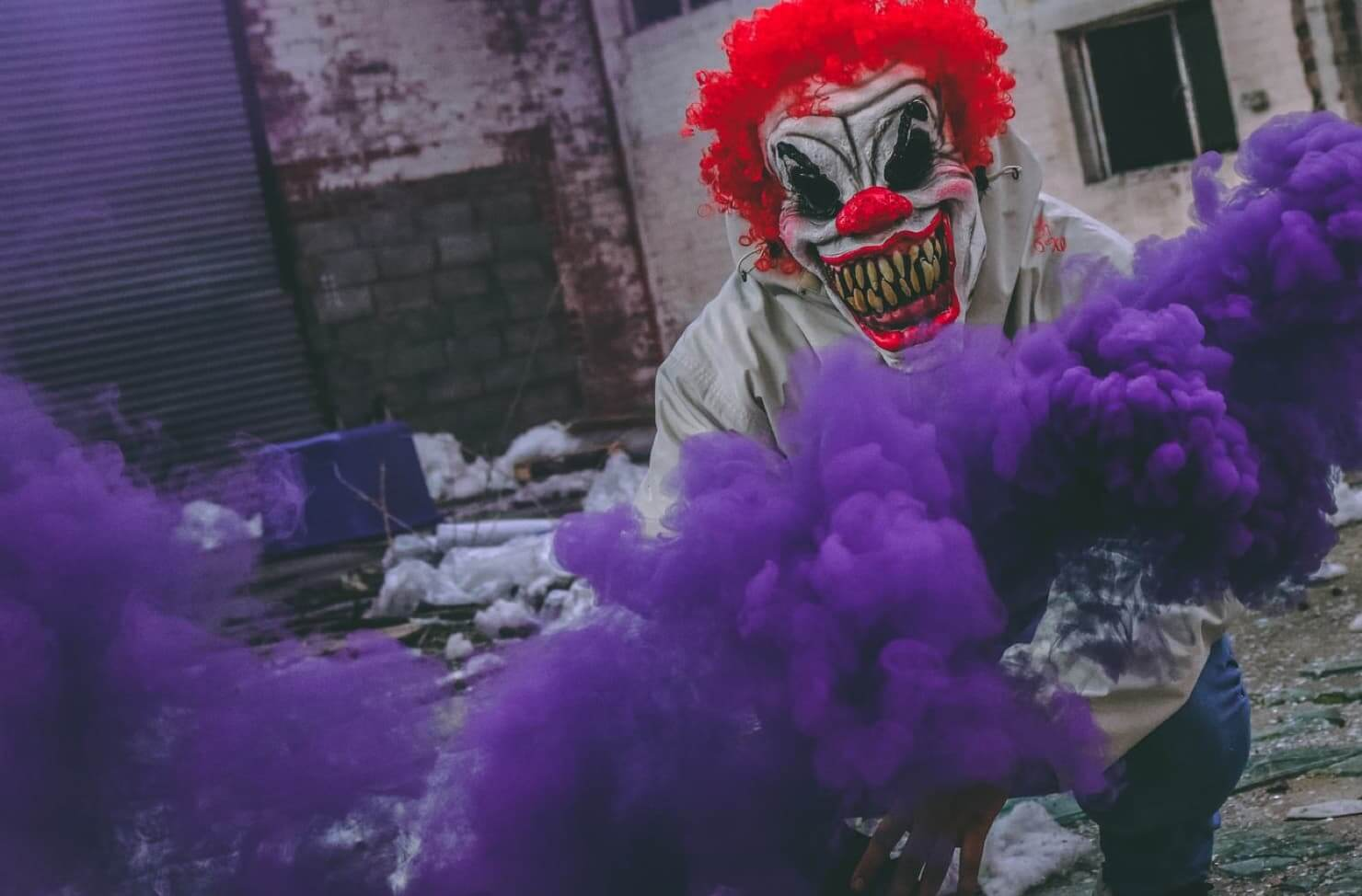 Halloween clown costume