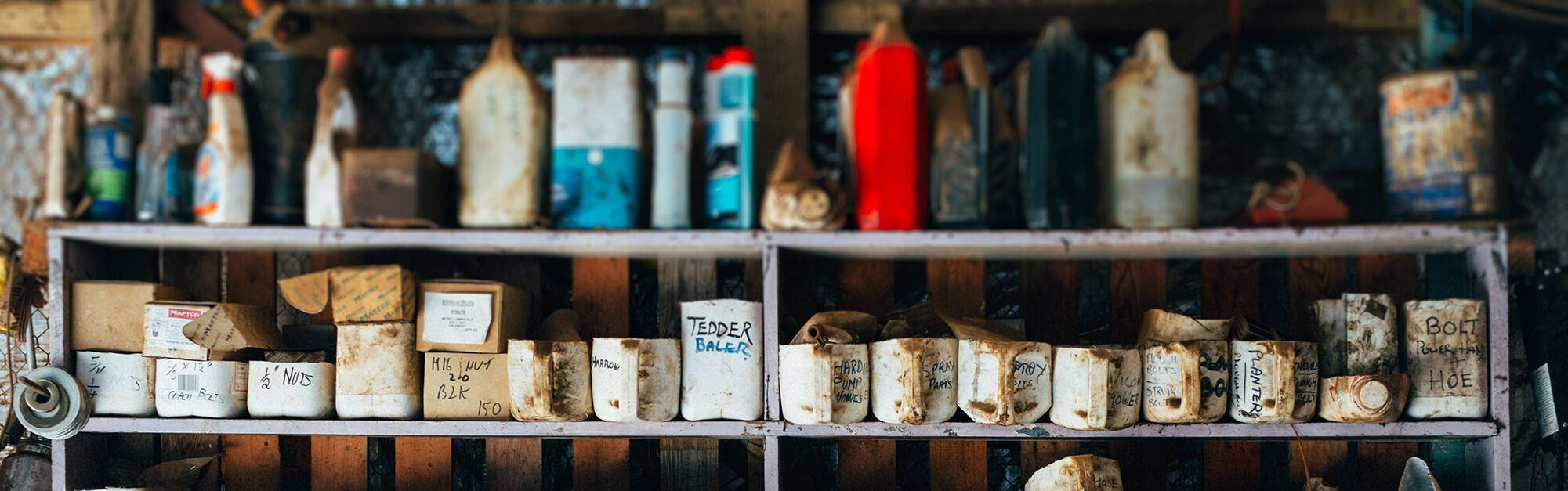 9.2 billion pounds of Welsh property value wasted storing junk