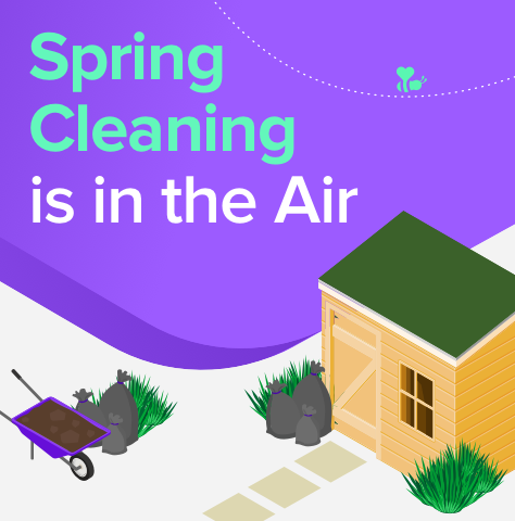 Spring Cleaning is in the Air