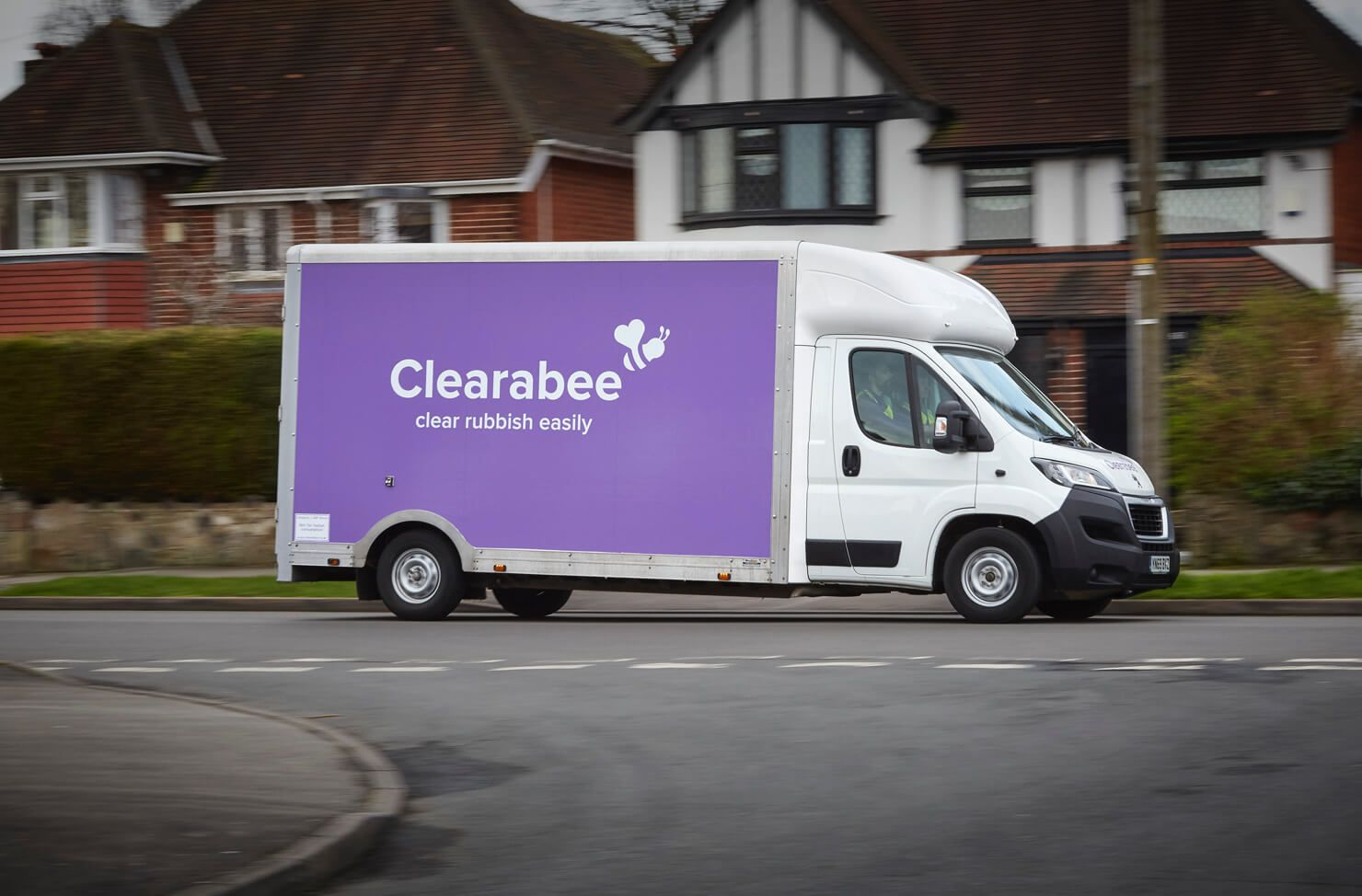 Clearabee Man and Van