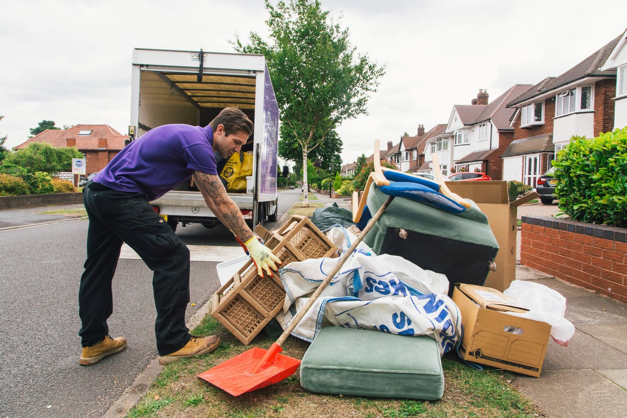 The best way to plan a house clearance