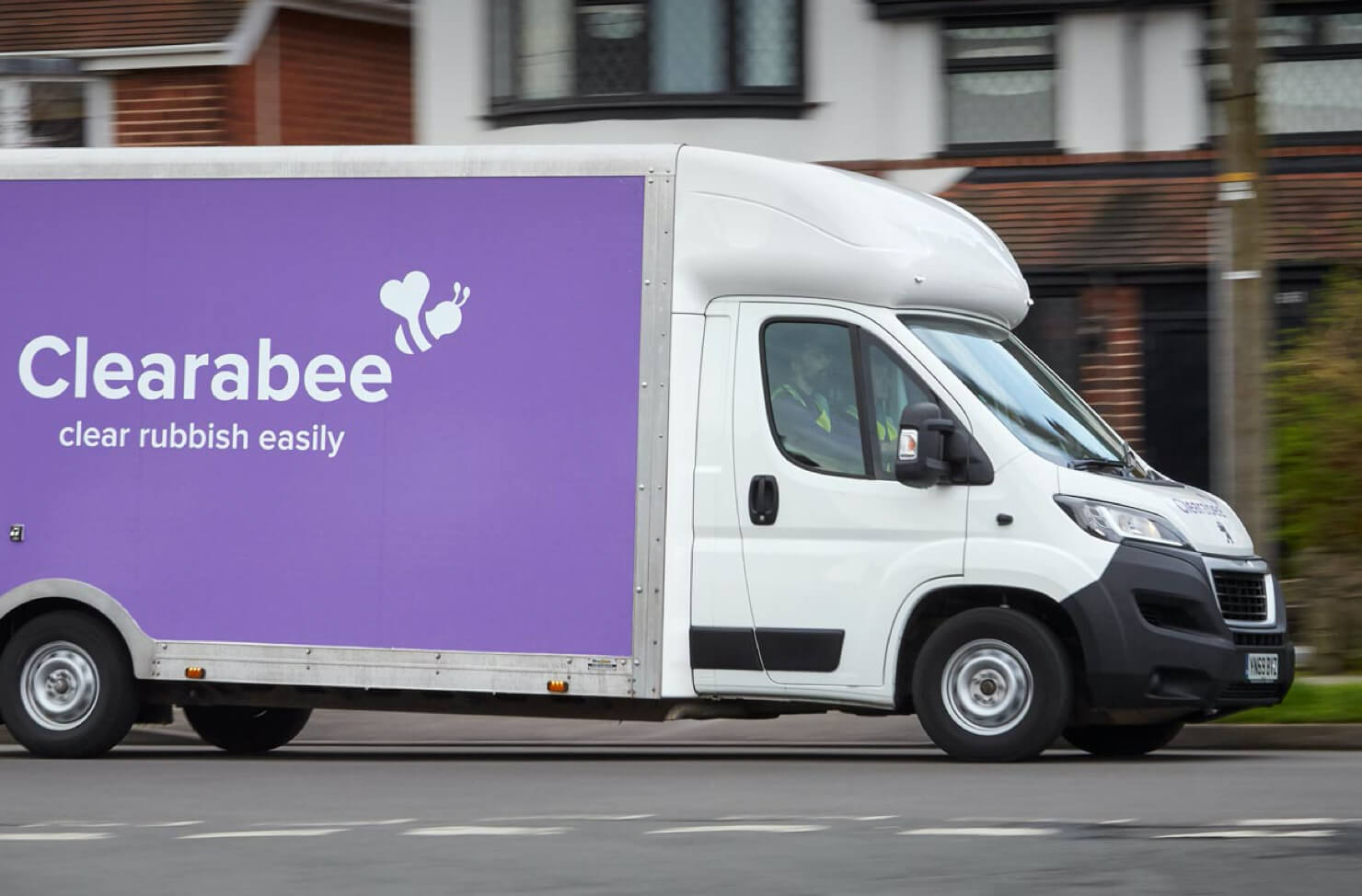 rubbish clearance van