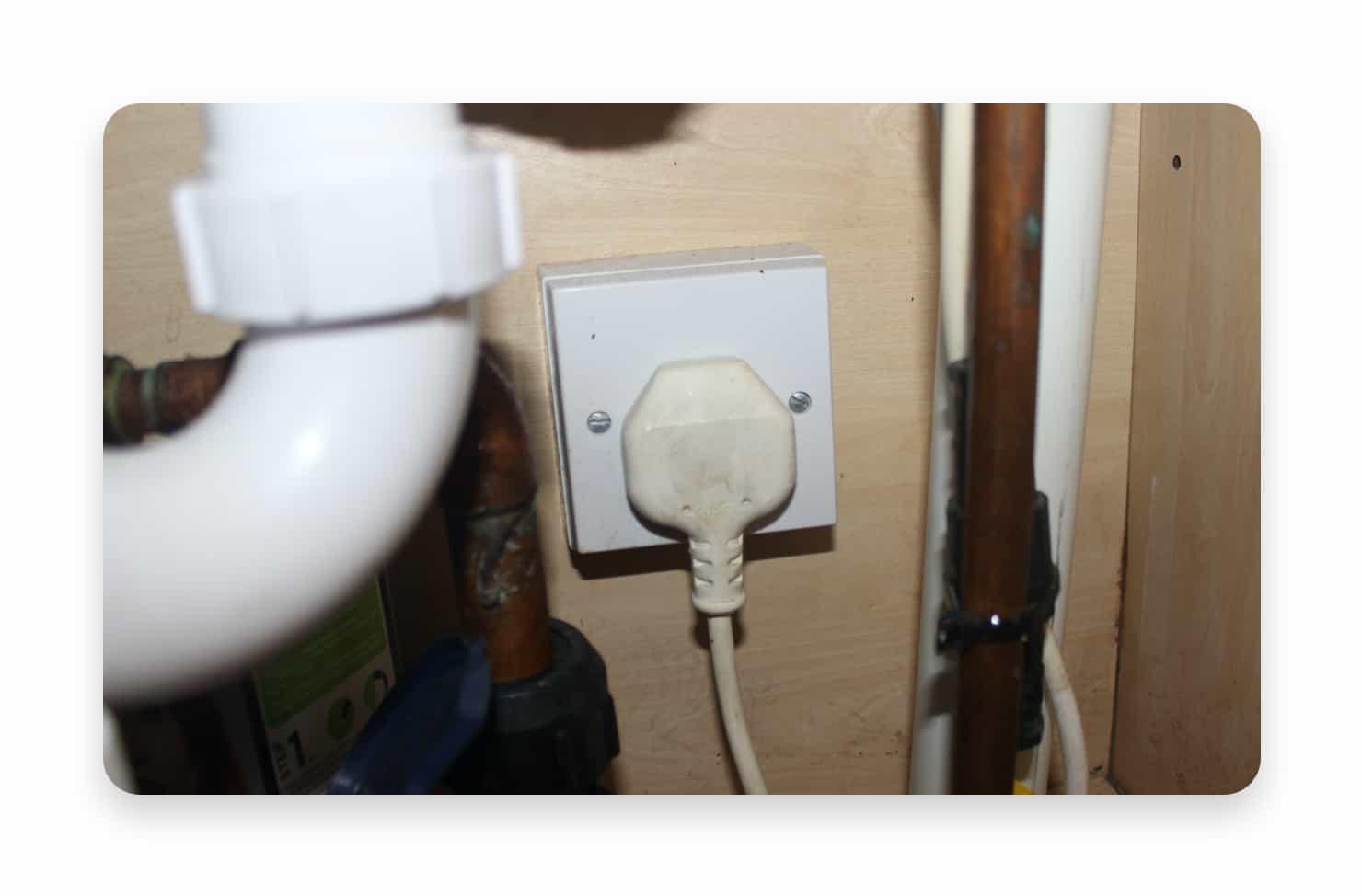 plug in a socket