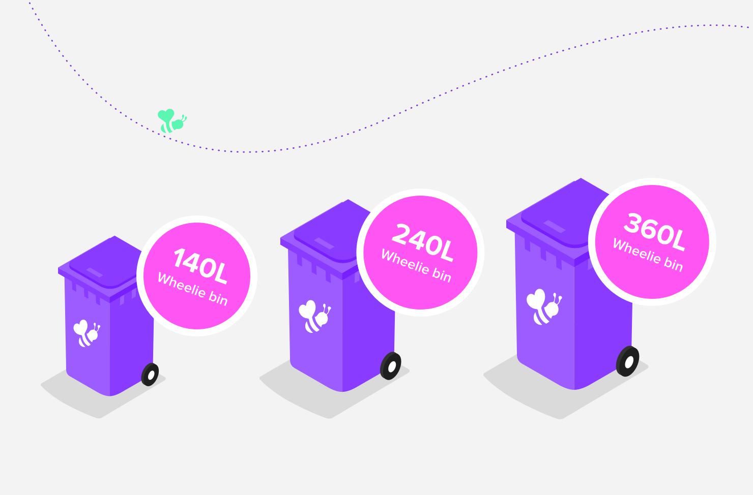 bin sizes dimensions
