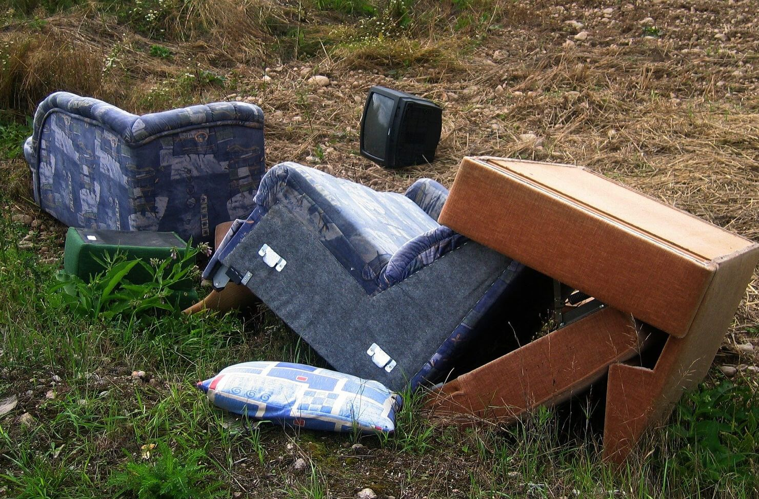 flytipped furniture