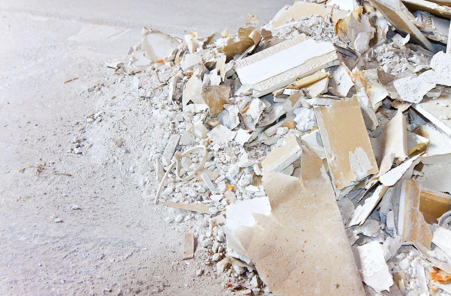 Plasterboard dangers