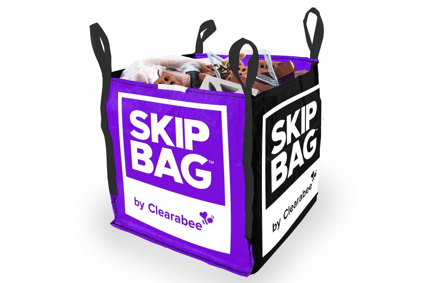A Small Clearabee Skip Bag