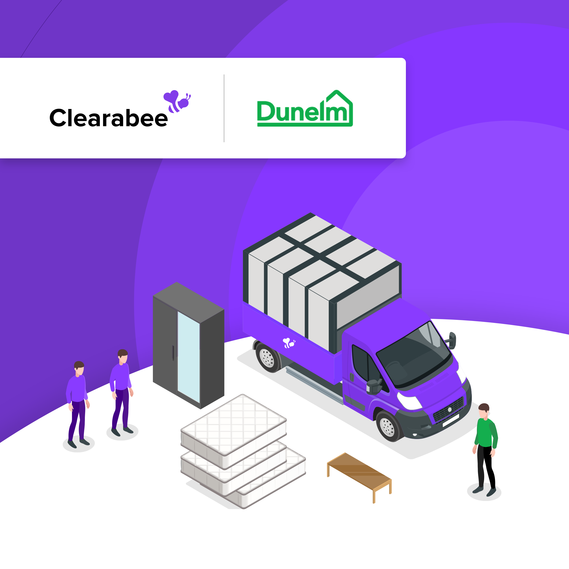 Clearabee announces new partnership with Dunelm