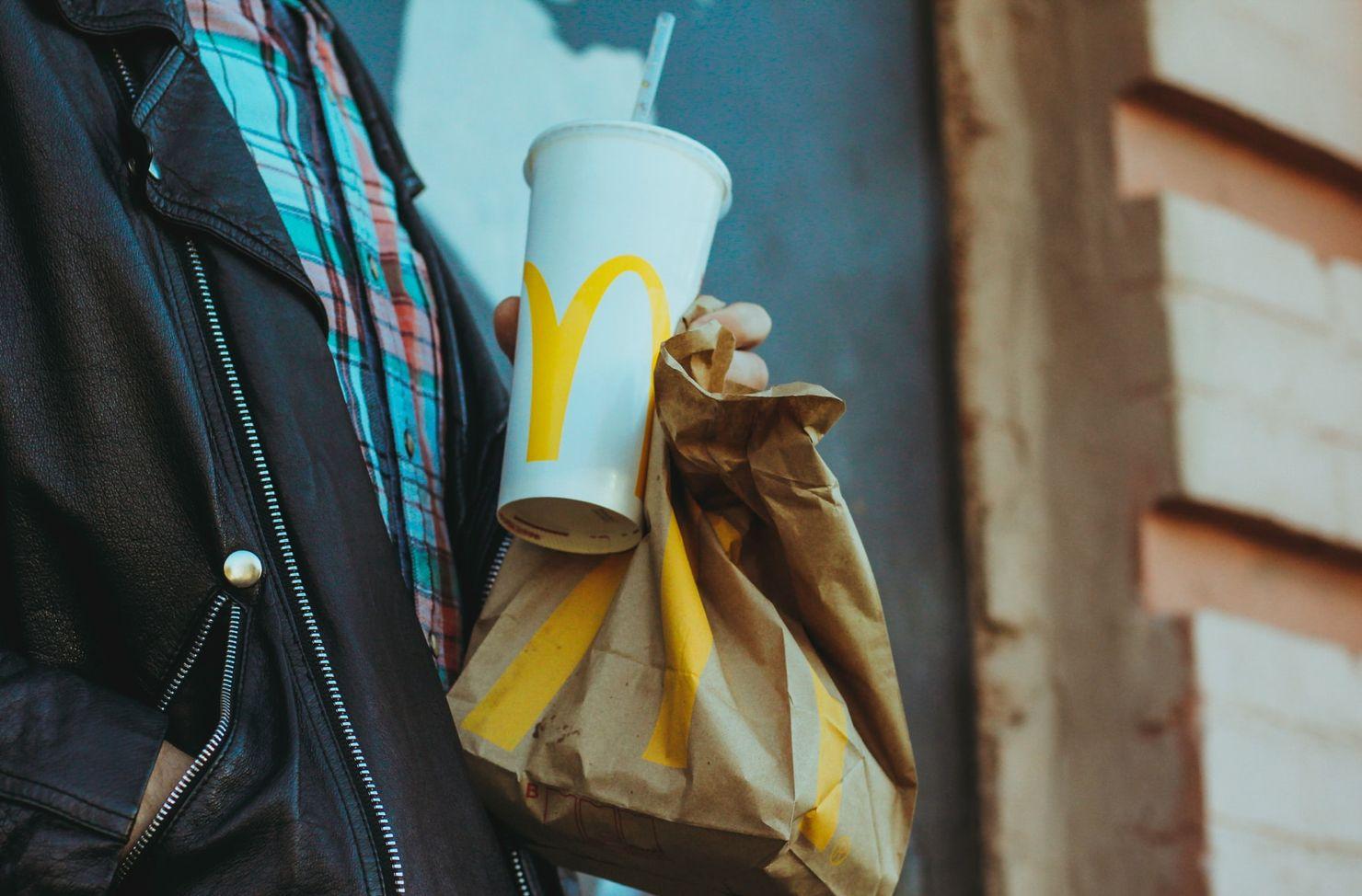 fast food rubbish