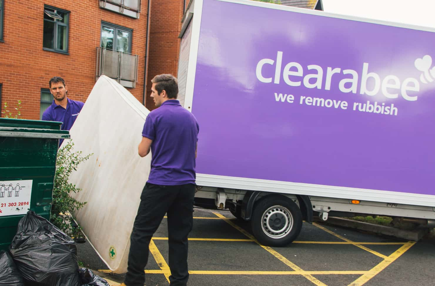 clearabee-bulky-mattress-removal