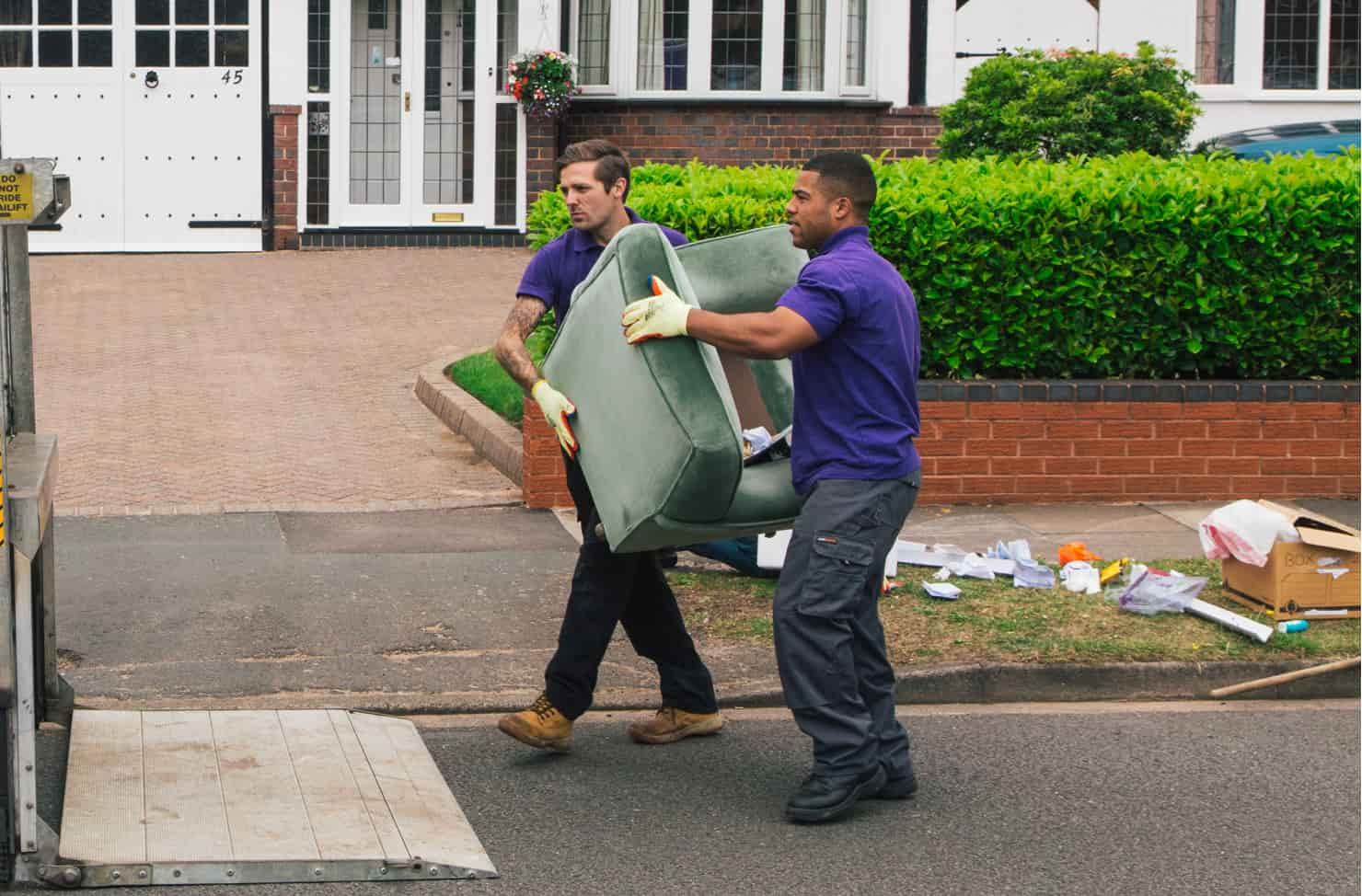waste operative clearing waste