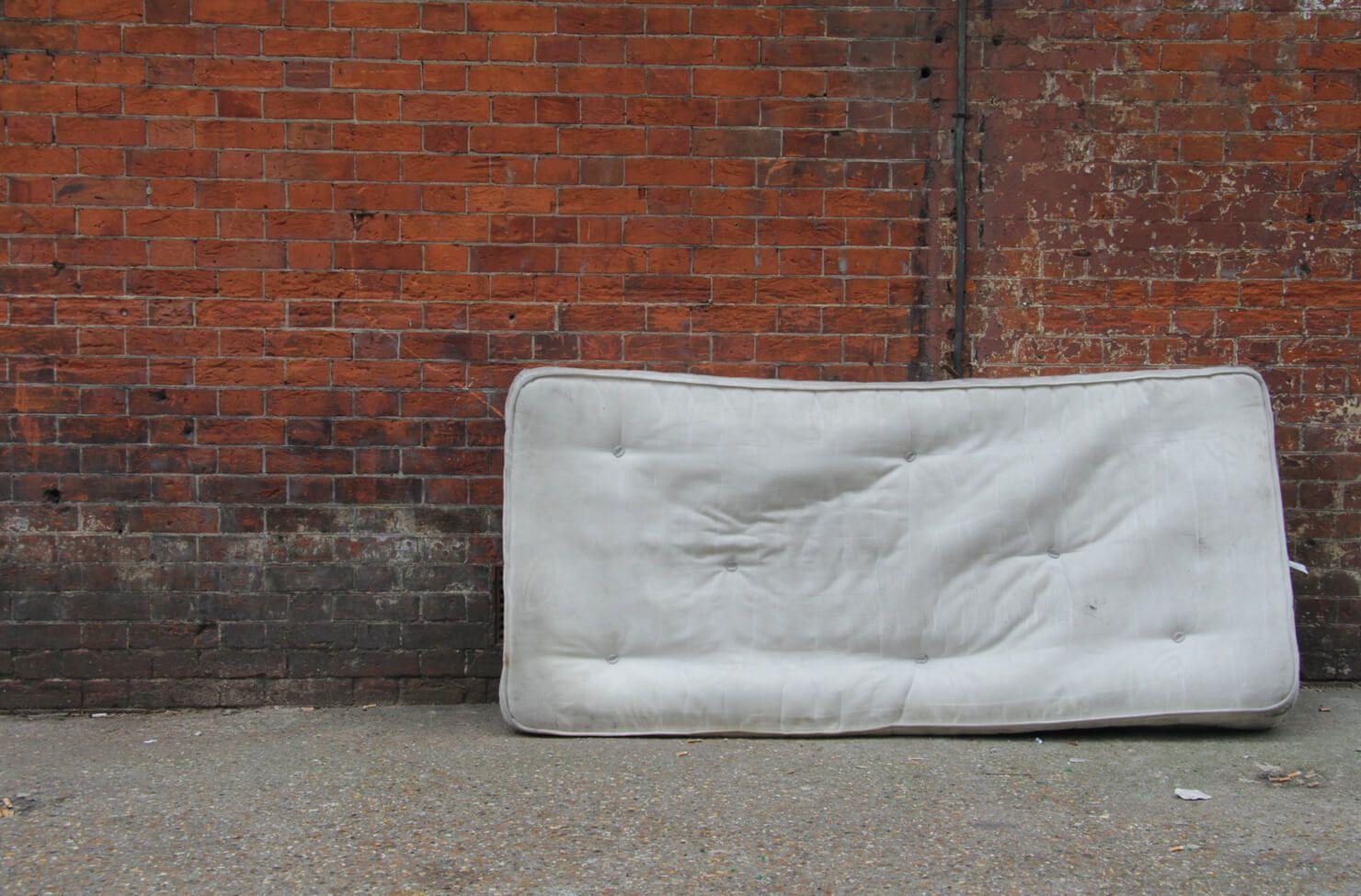 fly-tipping mattress