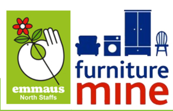 Emmaus Furniture Mine charity shop Stoke-on-Trent