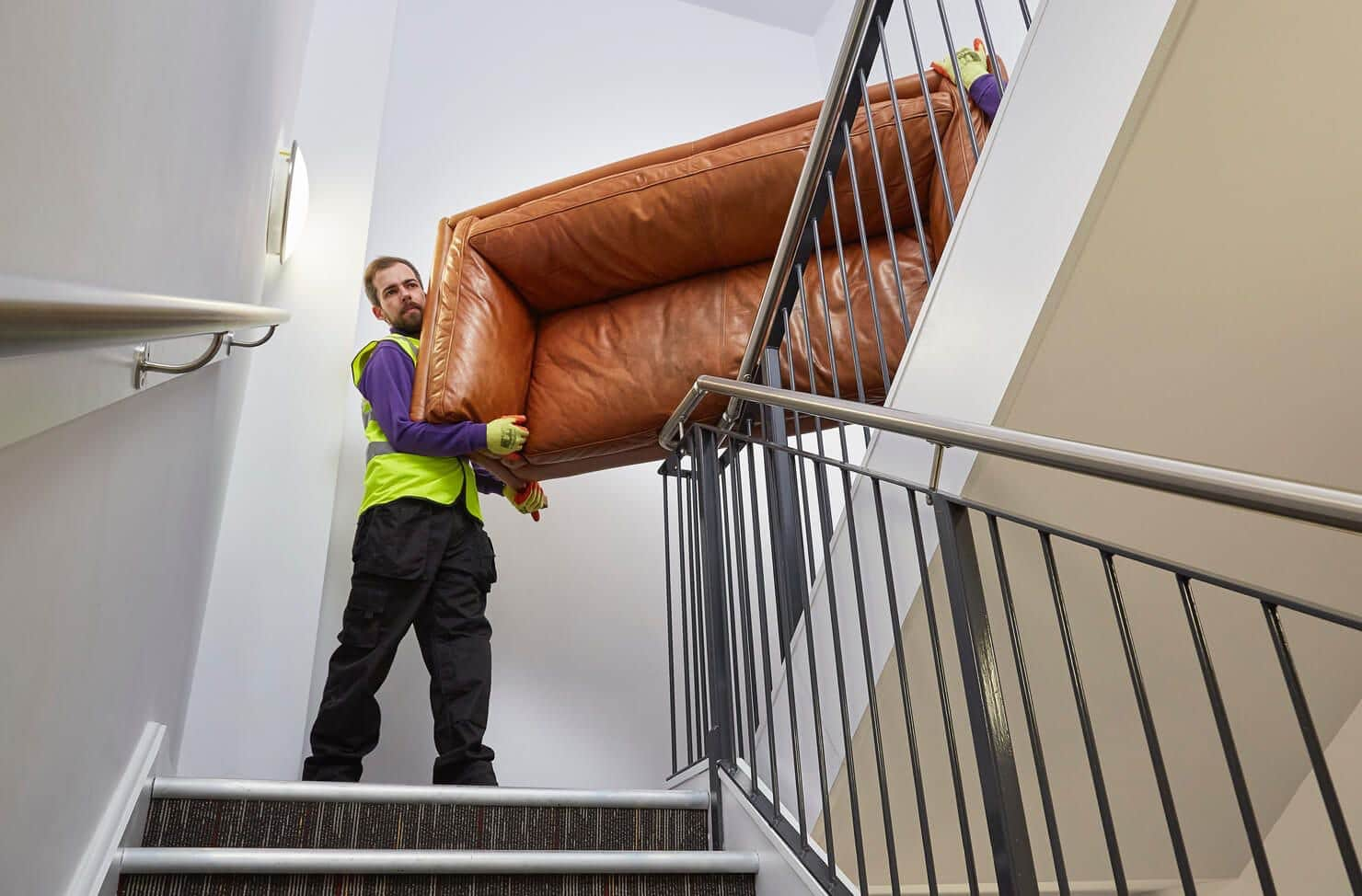 Clearabee collecting a sofa