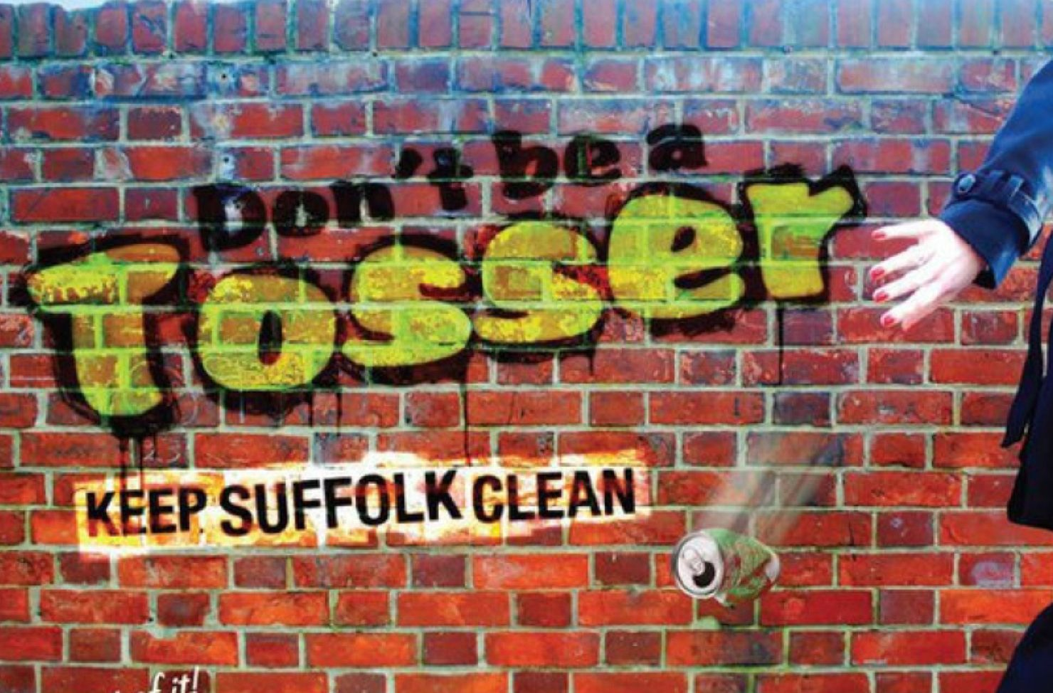 Don't Be A Tosser campaign