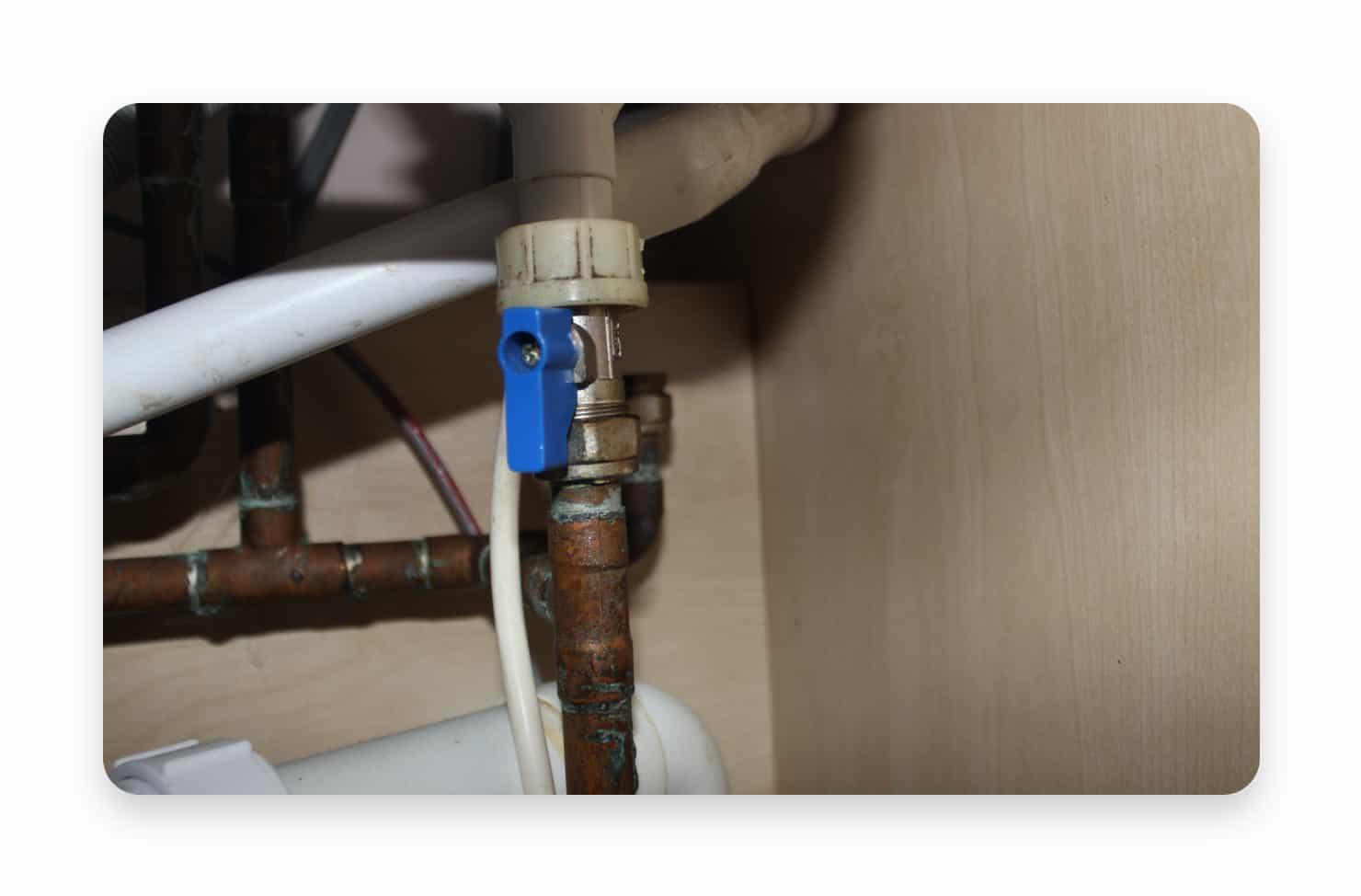water supply valve
