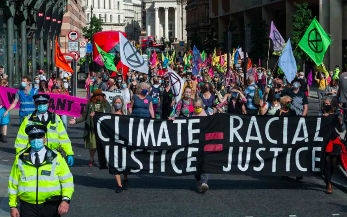 Extinction Rebellion's Long Overdue Reckoning With Race