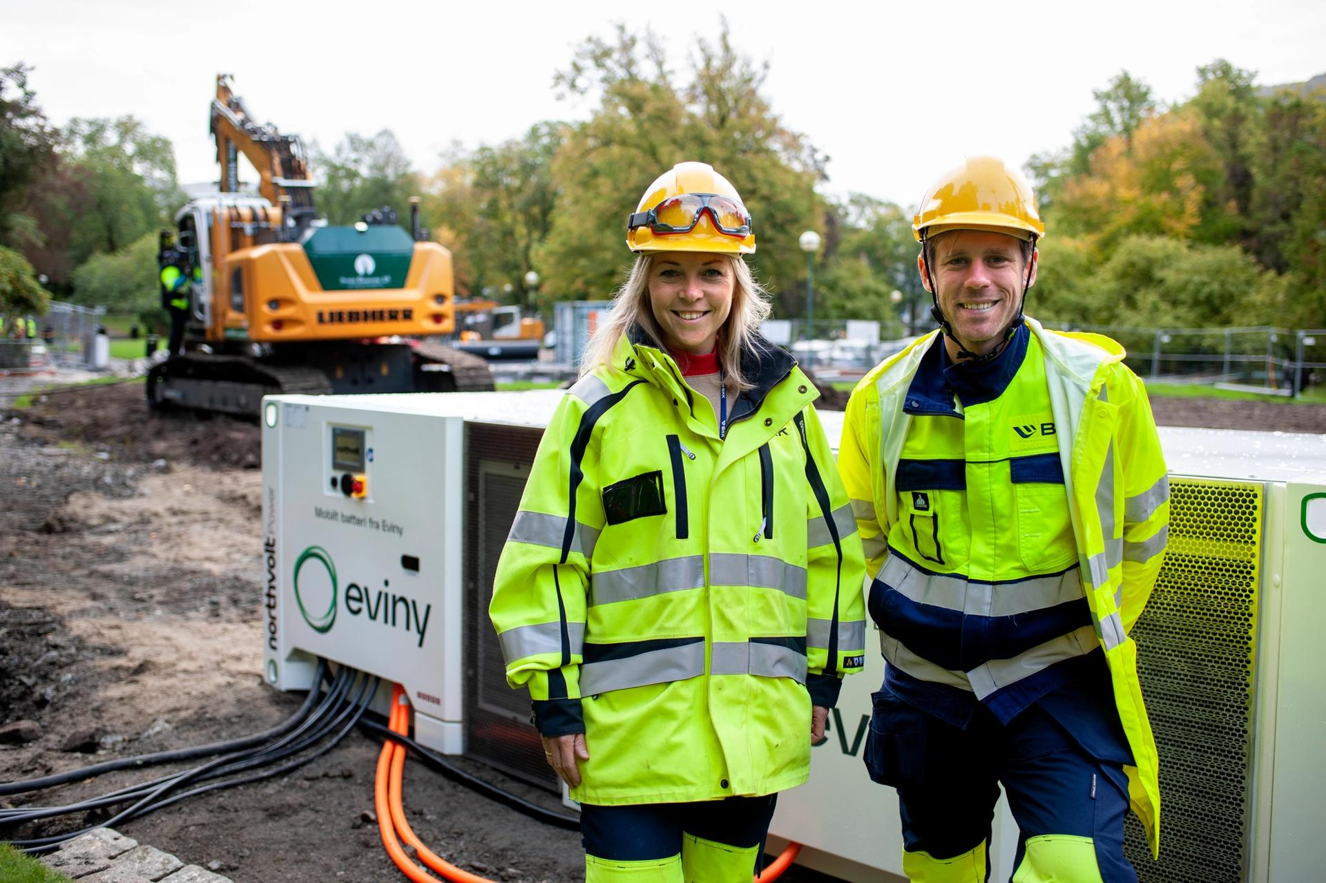 Camilla Moster i BKK og Callum Hoare i Northvolt.