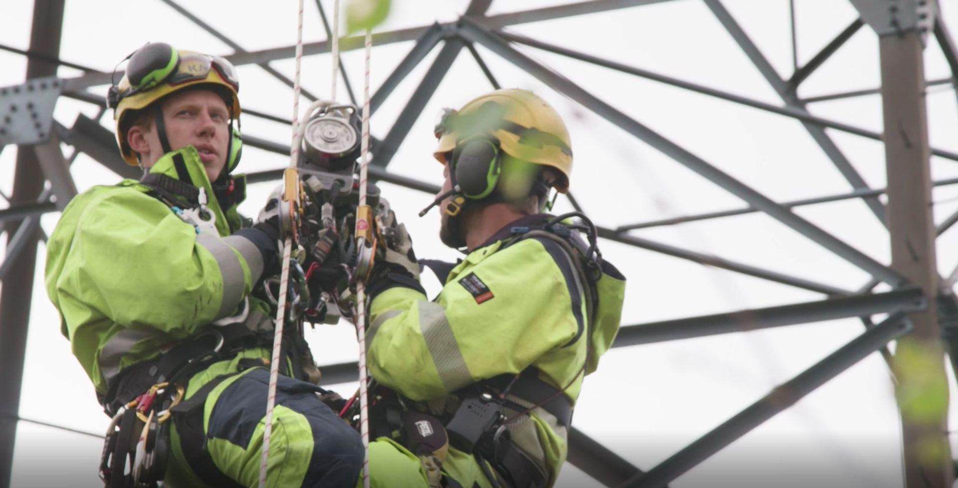 Vi fjerner høyspentlinjen for Sotrasambandet