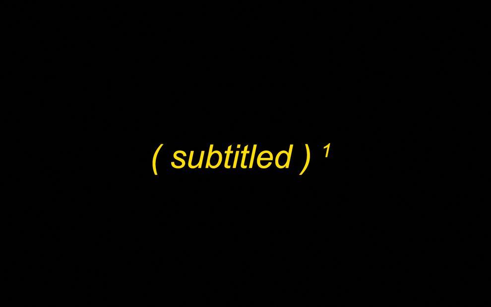 Subtitled Publication Launch