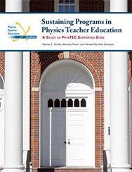 Sustaining Programs in Physics Teacher Education cover
