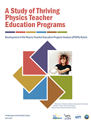 A Study of Thriving Physics Teacher Education Programs cover