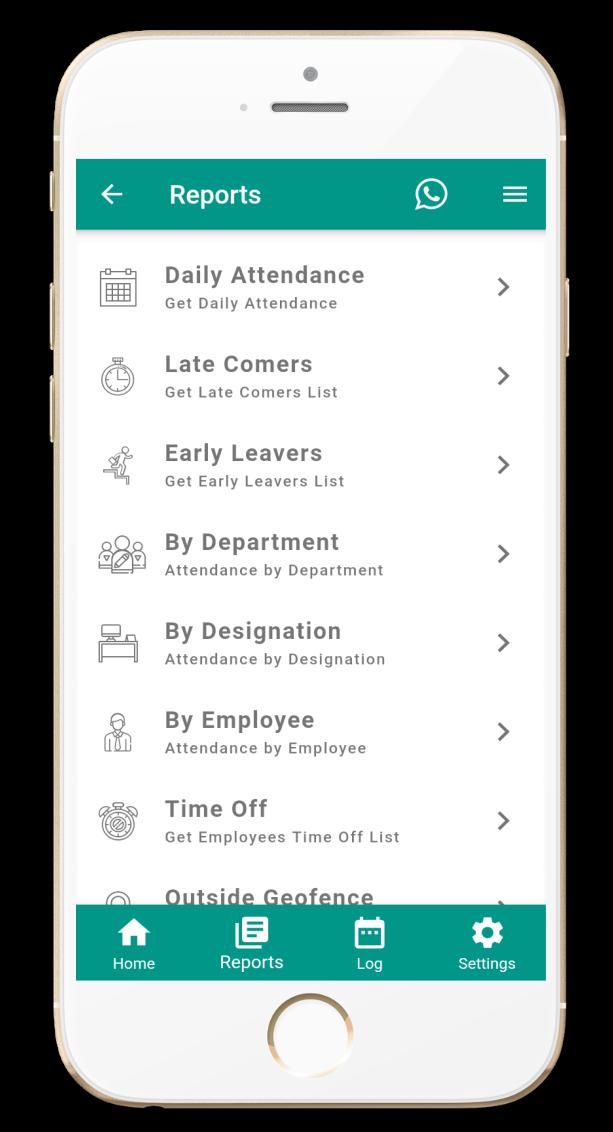 Attendance monitoring app - Instant Attendance insight
