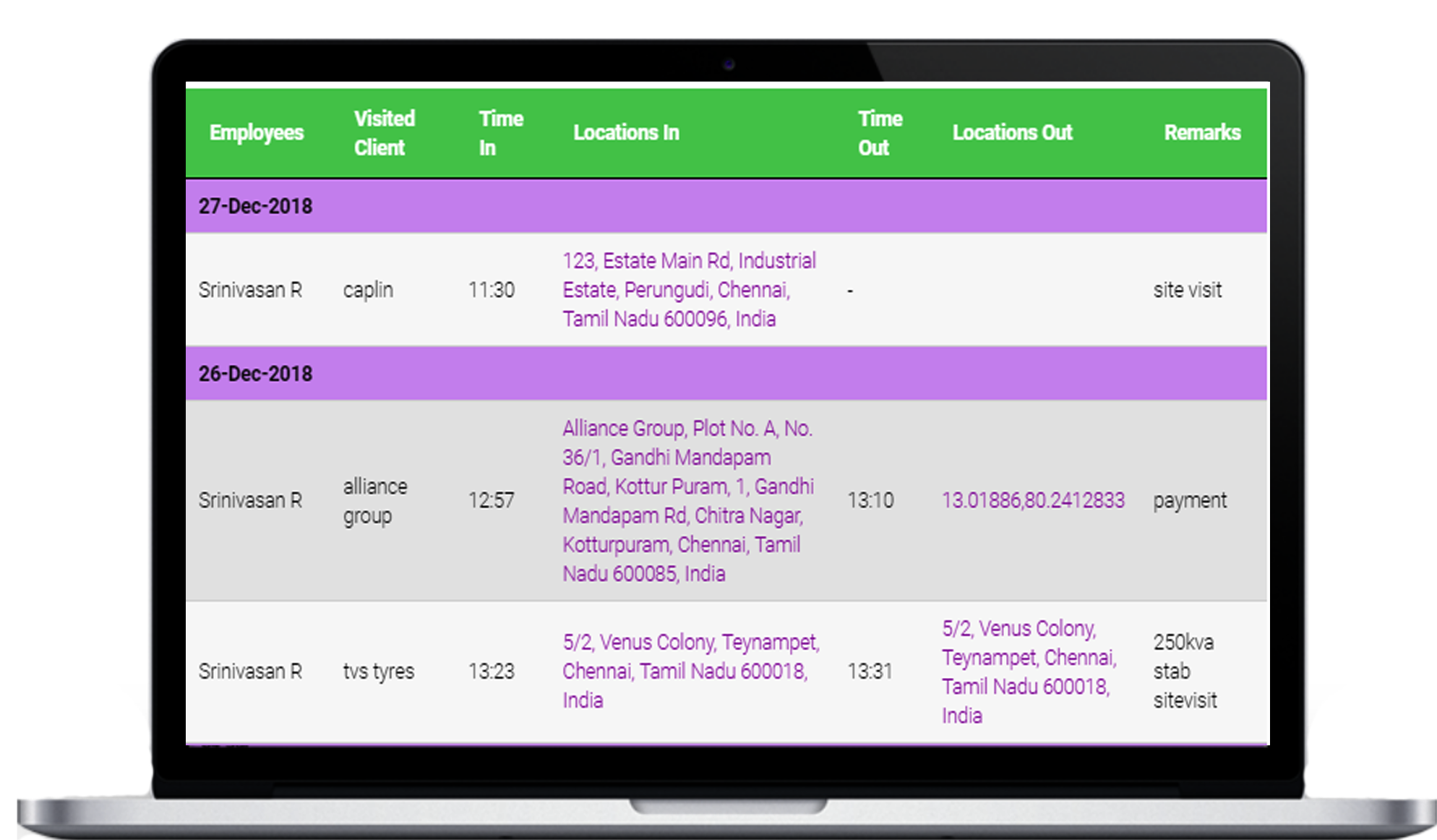 Work from Home Attendance -Hassle free attendance app