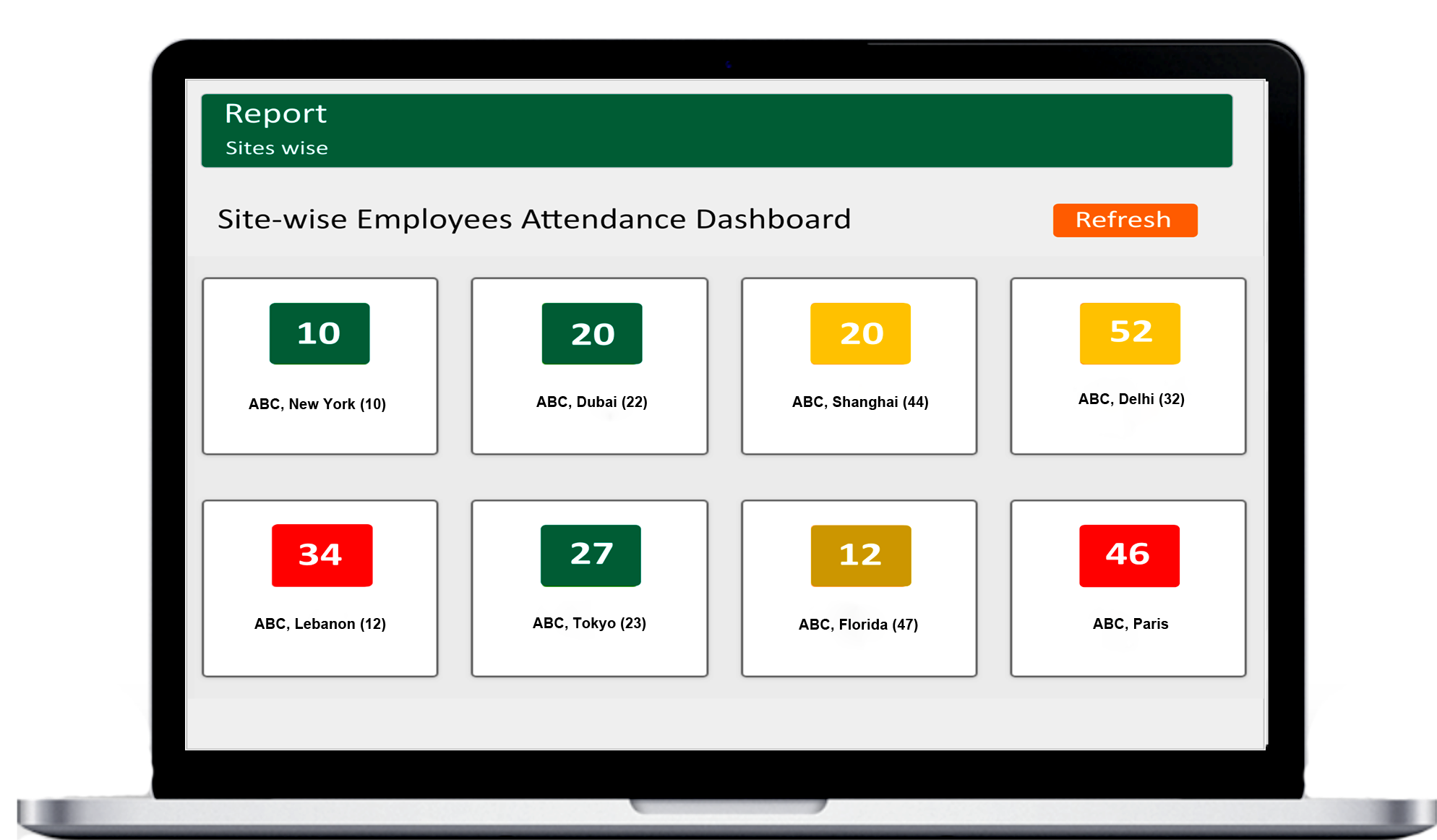 Time and attendance app - Clock in & Clock out