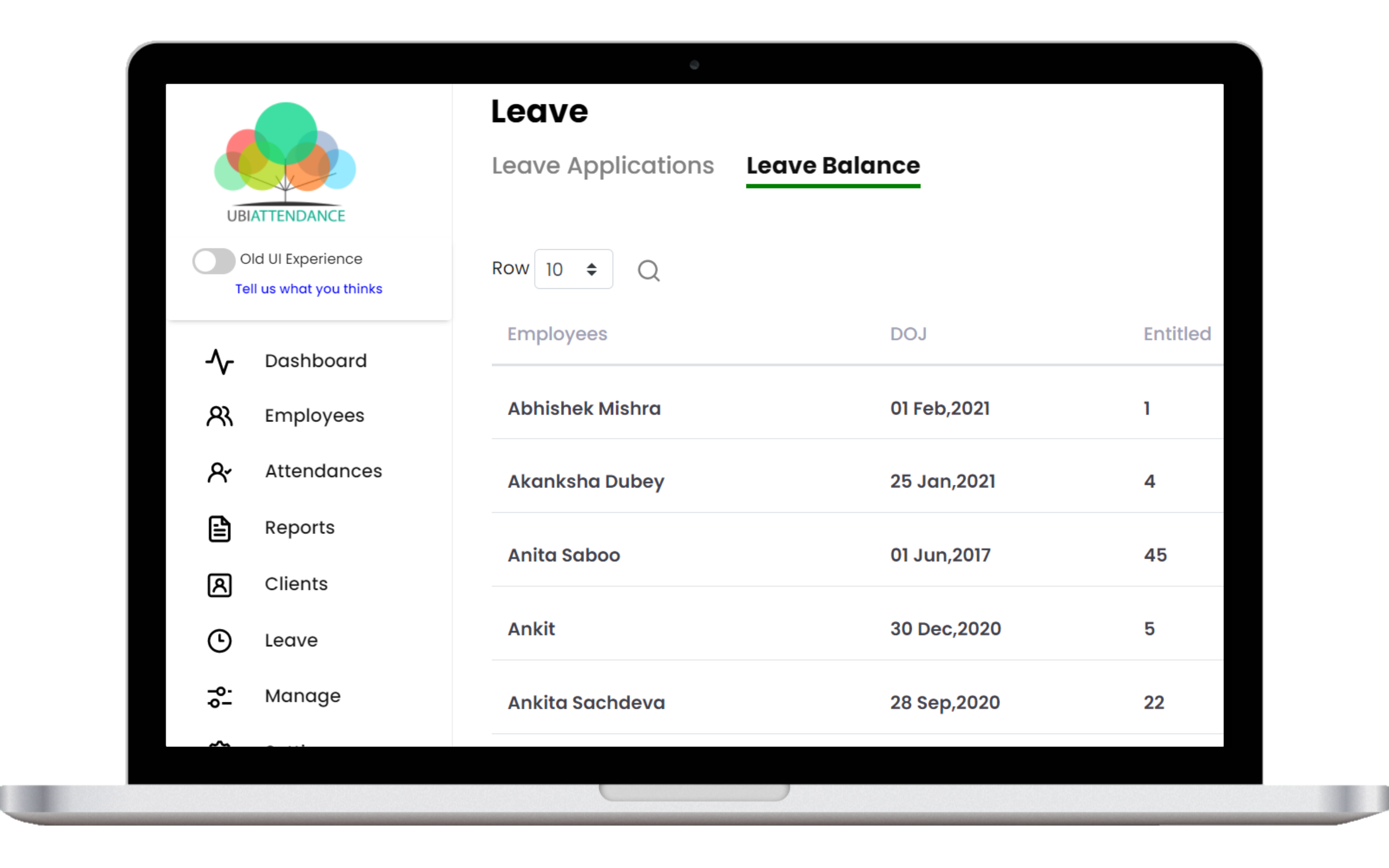 leave management app - Leave approval