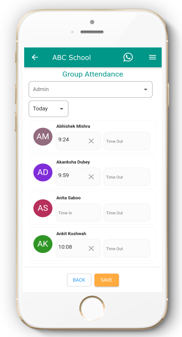 Attendance Monitoring App - Surest way to punch student Attendance
