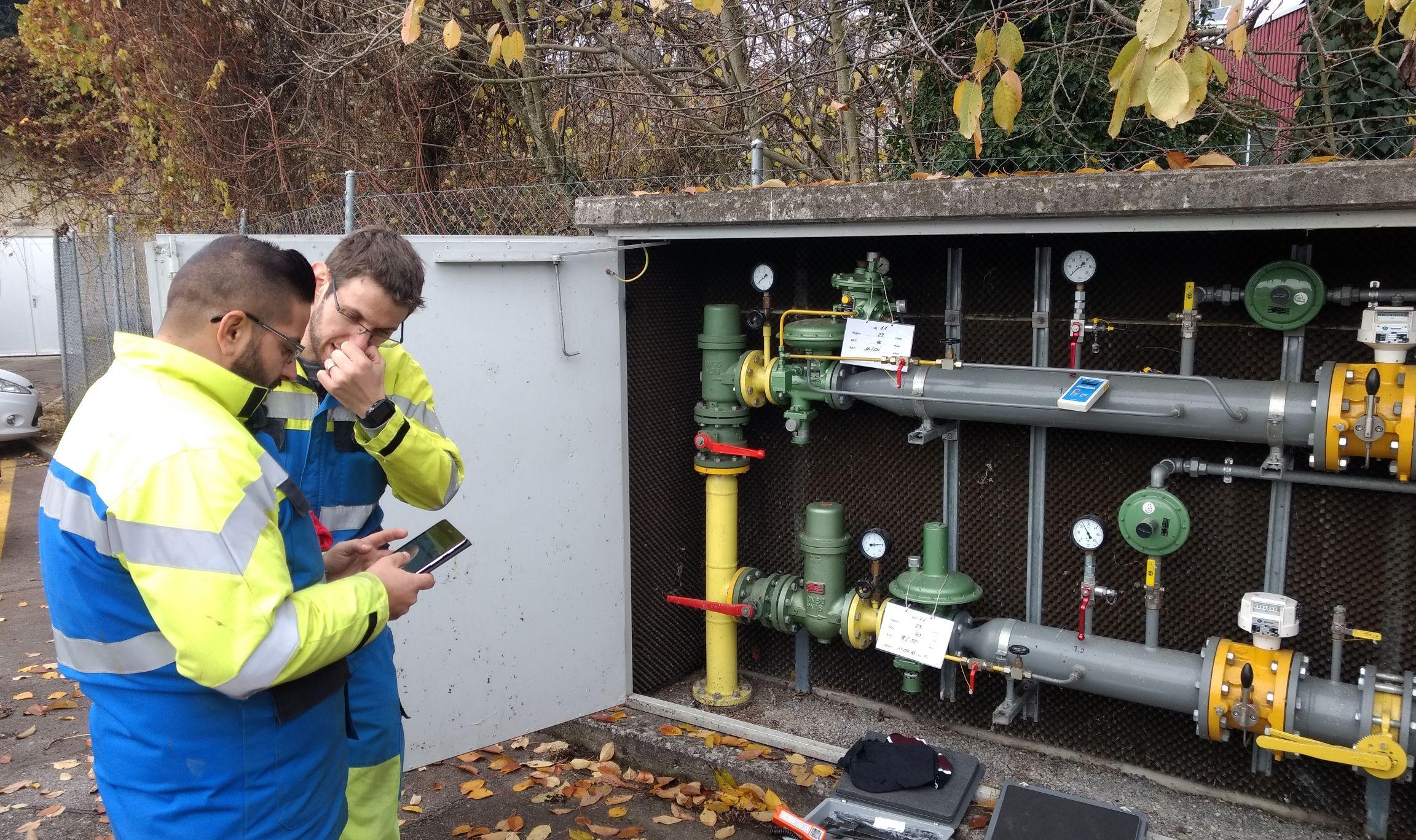 Aqua & Gas 03/2018: Digitalisierte Instandhaltung - einfacher und mit besserer Qualität
