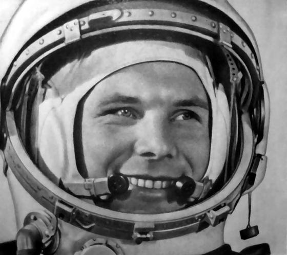 Yuri Gagarin Russian cosmonaut astronaut