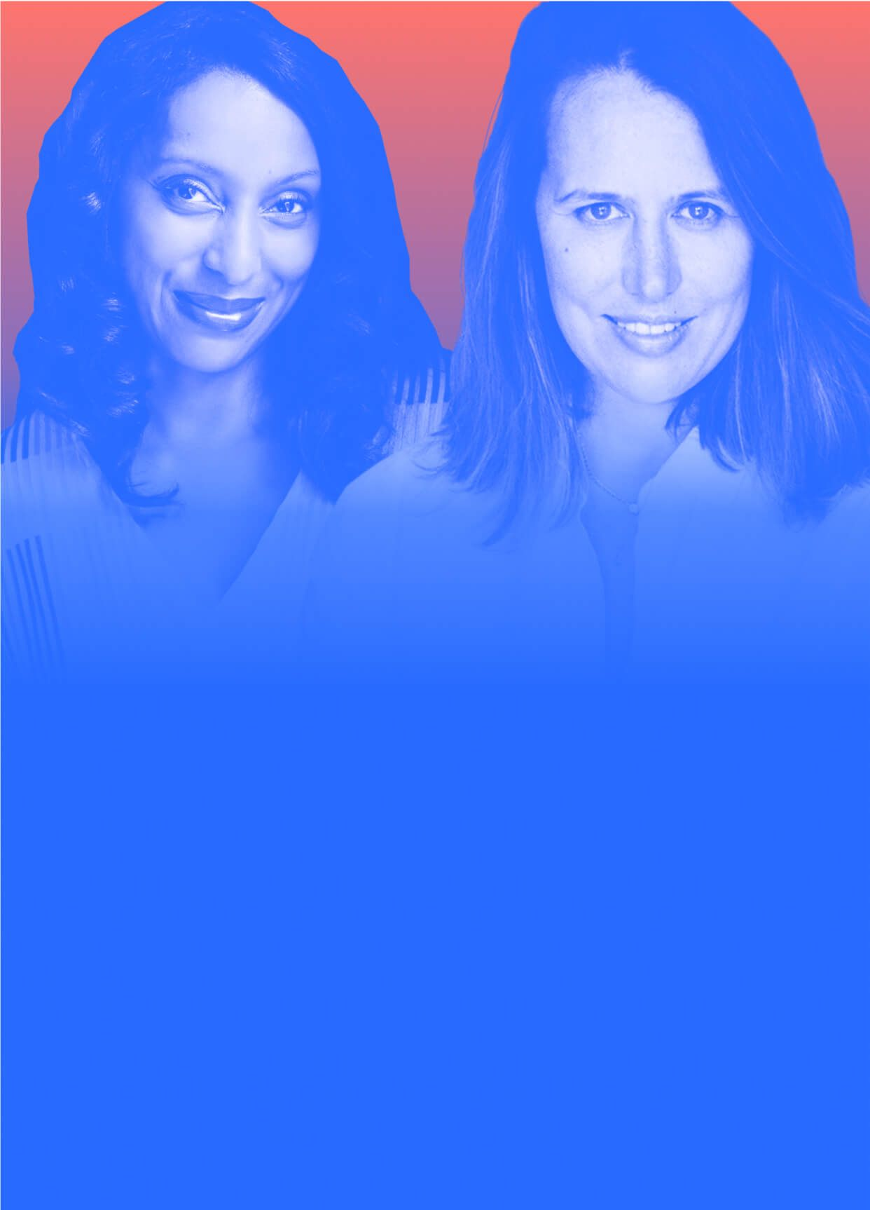 """Christine Pride & Johanna Piazza on interracial friendship, & their new book, """"We Are Not Like Them""""."""