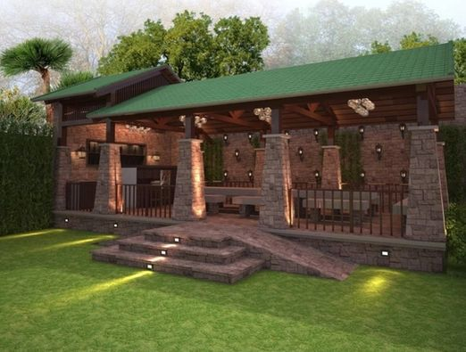 Restaurant Landscape Design