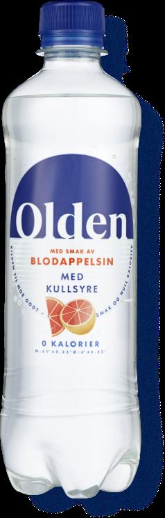 Olden Blodappelsin med kullsyre