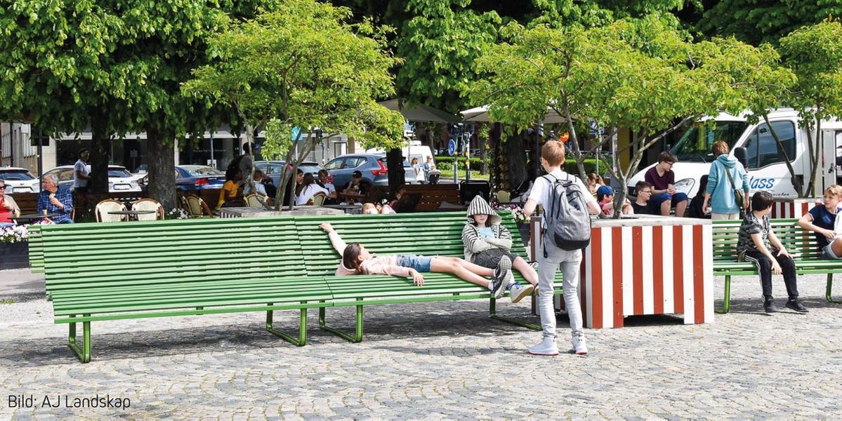 Pop Up-park, Holger Bloms plats1
