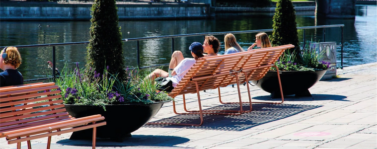 Levande Stockholm - Sommargågator