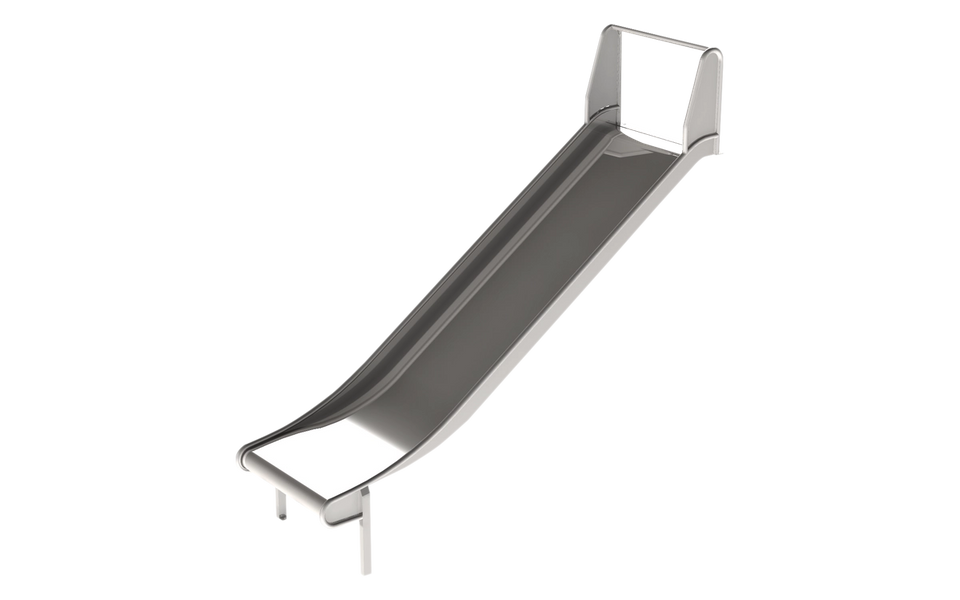 Släntrutschkana bred