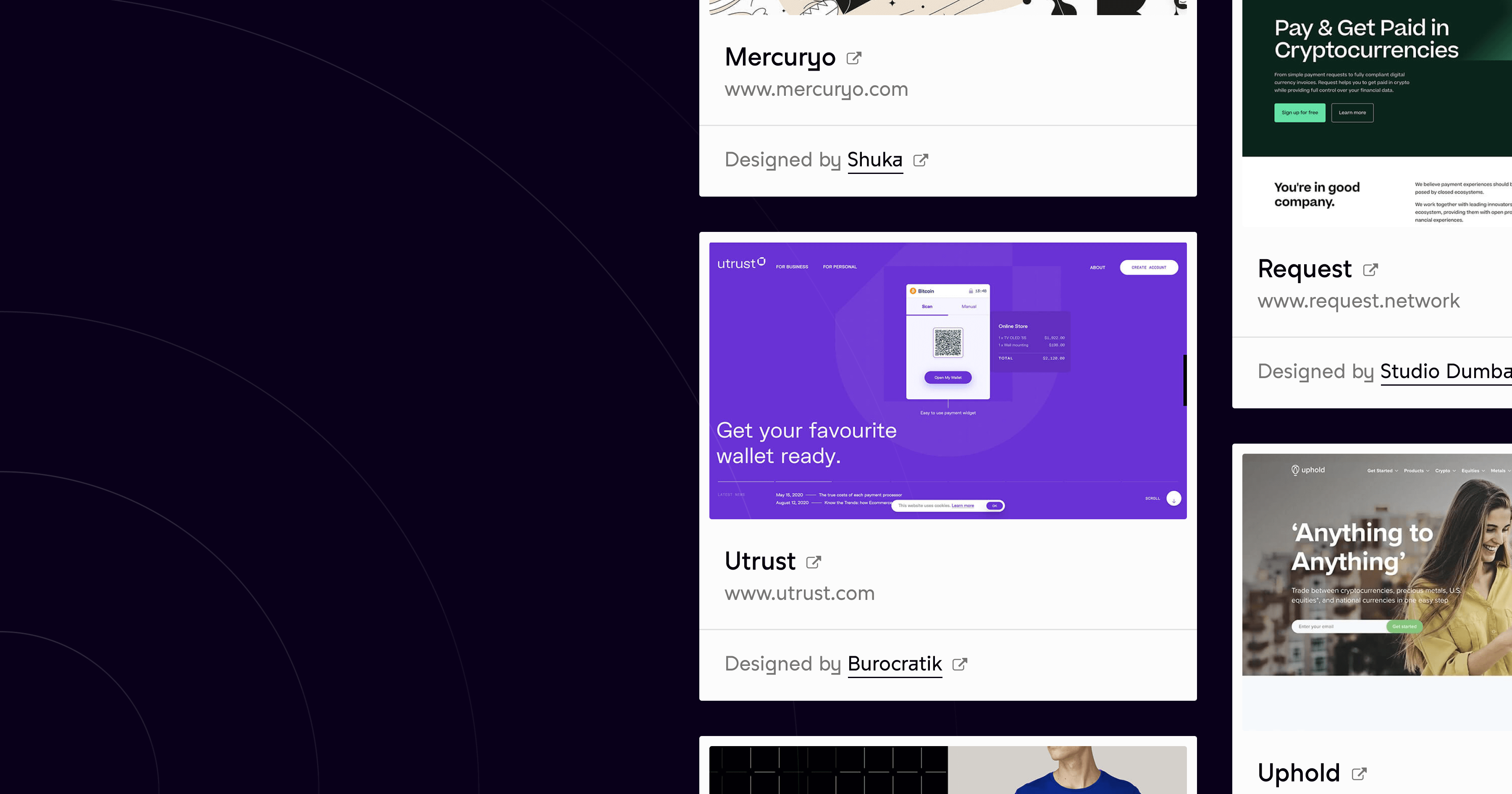 Our cryptobrands website